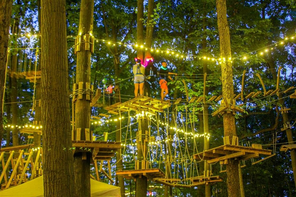 the haunted forest at the adventure park west bloomfield