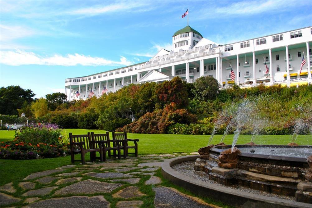 Grand Hotel Mackinac Island Michigan Real Haunted Place